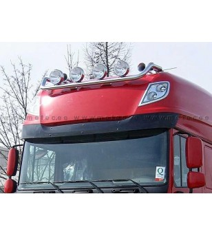 DAF 105XF 06 to 14 LAMP HOLDER ROOF Superspace 4x lamp fixings cable pcs - 850181 - Roofbar / Roofrails - Metec Truck