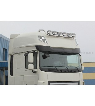 DAF 105XF 06 to 14 LAMP HOLDER ROOF Superspace 6x lamp fixings kaabliga pcs - 850183 - Roofbar / Roofrails - Metec Truck