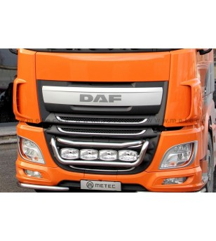 DAF XF Euro6 14+ LAMP HOLDER FRONT TAILOR 4x lamp fixings cable pcs - 850230 - Bullbar / Lightbar / Bumperbar - Metec Truck
