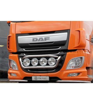 DAF XF Euro6 14+ FRONT LAMP HOLDER TAILOR - 4x lamp fixings cable