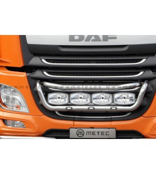 DAF XF Euro6 14+ LAMP HOLDER FRONT TAILOR Led 4x lamp fixings cable - 850231 - Bullbar / Lightbar / Bumperbar - Metec Truck