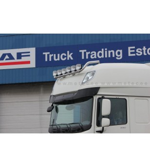 DAF XF Euro6 14+ LAMP HOLDER ROOF Superspace 6x lamp fixings kaabliga pcs - 850183 - Roofbar / Roofrails - Metec Truck