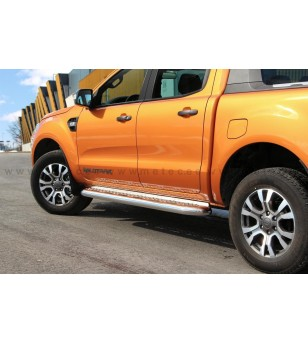 FORD RANGER 12+ RUNNING BOARDS TOUR Space +Double Cab pair - 806960 - Sidebar / Sidestep - Metec Car/SUV