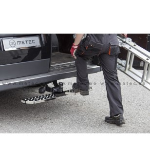 FORD TRANSIT 06 to 13 RUNNING BOARDS to tow bar pcs LARGE