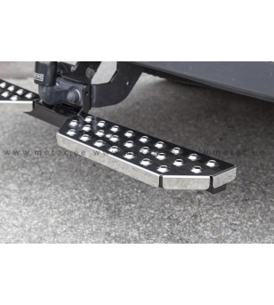 FORD TRANSIT 14+ RUNNING BOARDS to tow bar pcs LARGE - 888420 - Rearbar / Opstap - Metec Van
