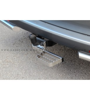 FORD TRANSIT CUSTOM 13+ RUNNING BOARDS to tow bar RH LH pcs
