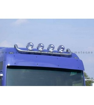 MAN TGA 00 to 07 LAMP HOLDER ROOF XXL+XLX 4x lamp fixings cable pcs - 854231 - Roofbar / Roofrails - Metec Truck