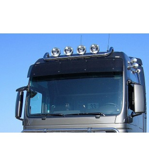 MAN TGX 07+ LAMP HOLDER ROOF XXL+XLX 4x lamp fixings pcs - 854230 - Roofbar / Roofrails - Metec Truck
