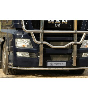 MAN TGX 07+ CITYGUARD to 2012 LED pcs - 854391 - Bullbar / Lightbar / Bumperbar - Metec Truck