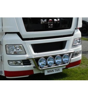 MAN TGX 07+ LAMP HOLDER FRONT 4x lamp fixings cable pcs - 854361 - Bullbar / Lightbar / Bumperbar - Metec Truck
