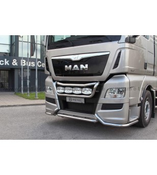 MAN TGX 07+ LAMP HOLDER FRONT TAILOR 2013+ 4x lamp fixings cable pcs - 854490 - Bullbar / Lightbar / Bumperbar - Metec Truck