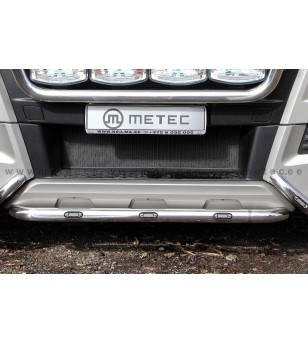 MAN TGX 07+ CITYGUARD middle part 2013+ LED pcs - 854501 - Bullbar / Lightbar / Bumperbar - Metec Truck
