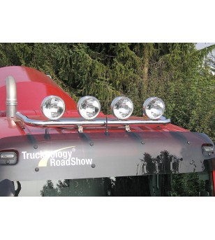 MAN TGX 07+ TOP ROOF LAMP HOLDER incl cable for 4 lights - L & XL ROOF - 854141 - Roofbar / Roofrails - Metec Truck - Verstraler