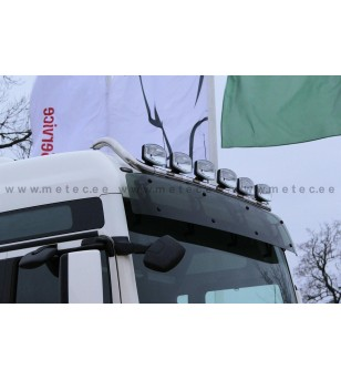 MAN TGX 07+ LAMP HOLDER ROOFFLEX XXL+XLX 6x lamp fixings cable LED pcs - 854552 - Roofbar / Roofrails - Metec Truck