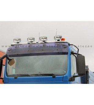 MAN TGX 07+ LAMP HOLDER ROOF XLL 6x lamp fixings cable LED pcs - 854145 - Roofbar / Roofrails - Metec Truck