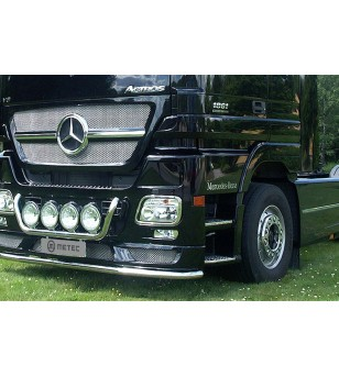 MB ACTROS MP3 08 to 13 CITYGUARD STD pcs - 856370 - Bullbar / Lightbar / Bumperbar - Metec Truck