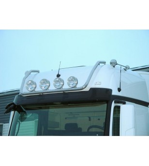 MB ACTROS MP4 11+ LAMP HOLDER ROOF GIGA 4x lamp fixings cable pcs - 856520 - Roofbar / Roofrails - Metec Truck