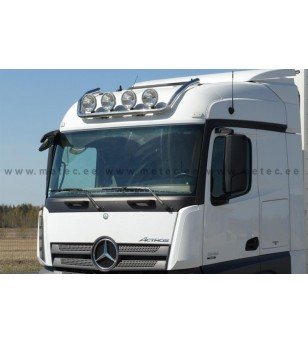 MB ACTROS MP4 11+ LAMP HOLDER ROOF STRM 2300 + 2500 4x lamp fixings cable pcs - 856540 - Roofbar / Roofrails - Metec Truck