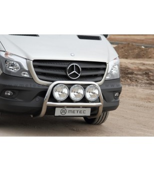 MB SPRINTER 07+ FRONTBAR 2013+ 2x lamp fixings pcs - 818565 - Bullbar / Lightbar / Bumperbar - Metec Van