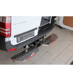 MB SPRINTER 07+ RUNNING BOARDS to tow bar pcs EXTRA LARGE
