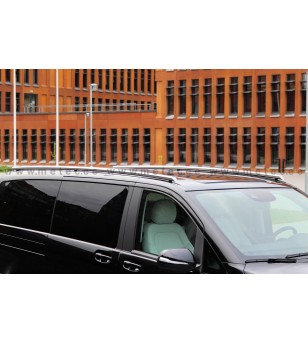 MB V class + VITO 14+ RAILINGS L2 pair - 818770 - Roofbar / Roofrails - Metec Van