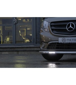 MB V class + VITO 14+ CITYGUARD with Philips DRL lightsVITO LED pcs - 81870979 - Bullbar / Lightbar / Bumperbar - Metec Van