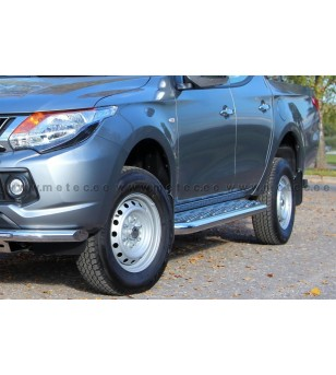 MITSUBISHI L200 15+ RUNNING BOARDS TOUR DoubleCab - 821050 - Sidebar / Sidestep - Metec Car/SUV
