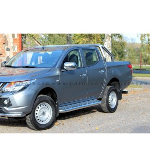 MITSUBISHI L200 15+ DoubleCab RUNNING BOARDS TOUR