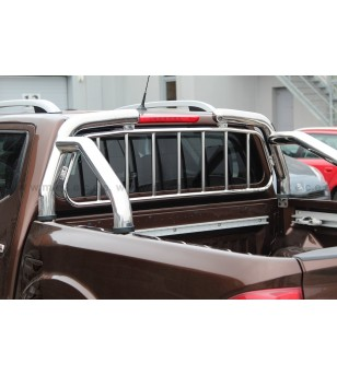 NISSAN NAVARA 16+ OVERROLLS with grille set