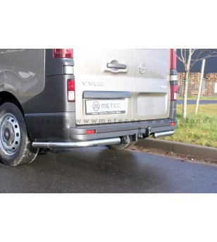 OPEL VIVARO 14+ REAR BARS CORNER BUMPER pair