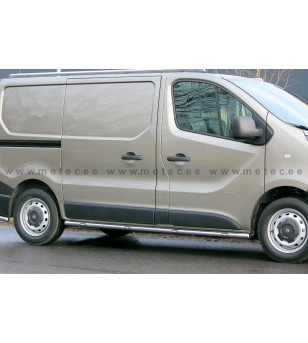 OPEL VIVARO 14+ L1 SIDEBARS BRACE IT LED pair