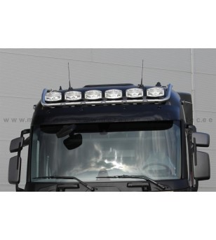 RENAULT T 14+ LAMP HOLDER ROOFMAX with clamps High 6x lamp fixings cable LED pcs - 862291 - Roofbar / Roofrails - Metec Truck