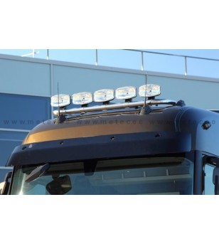 RENAULT T 14+ LAMP HOLDER ROOFTOP with clamps High 5x lamp fixings cable pcs - 862300 - Roofbar / Roofrails - Metec Truck
