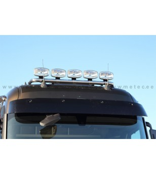 RENAULT T 14+ LAMP HOLDER ROOFTOP with clamps High 5x lamp fixings cable pcs