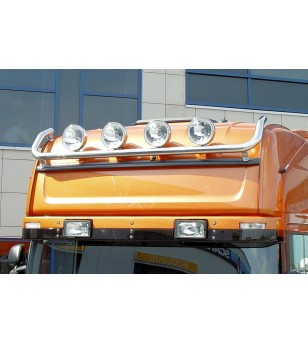 SCANIA R Serie 04 to 09 LAMP HOLDER ROOF TOPL 4x lamp fixings pcs - 864160 - Roofbar / Roofrails - Metec Truck