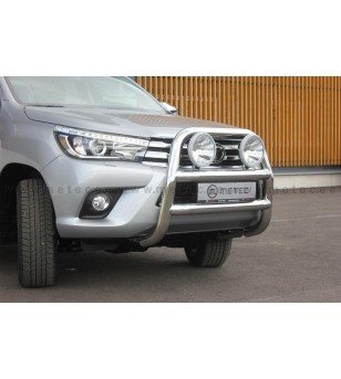 TOYOTA HILUX 16+ FRONTBAR 2x lamp fixings pcs