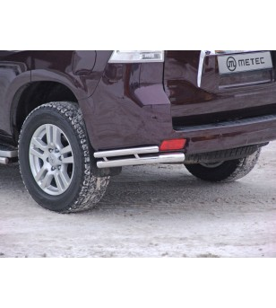 TOYOTA LC 150 09 to 13 REAR BARS CORNER PROTECTION pair