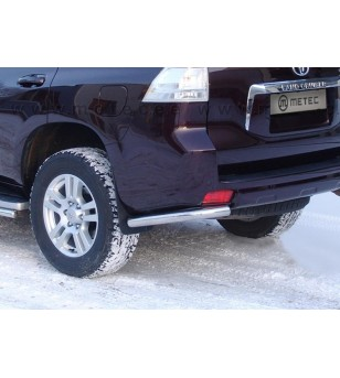 TOYOTA LC 150 13+ REAR BARS CORNER BUMPER pair