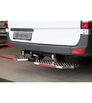 UNIVERSAL RUNNING BOARDS to tow bar pcs - 888423 - Rearbar / Opstap - Metec Accessory