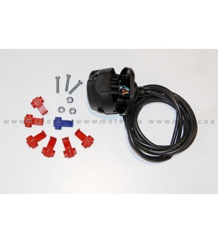 UNIVERSAL TOW BAR EXTRAS socket+cable 7 pin pcs - 770216 - Overige accessoires - Verstralershop