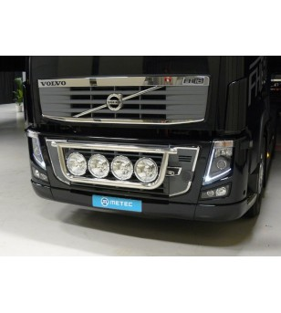 VOLVO FH 08 to 13 LAMP HOLDER FRONT 4x lamp fixings cable pcs - 868421 - Bullbar / Lightbar / Bumperbar - Metec Truck