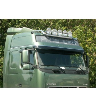 VOLVO FH 08 to 13 LAMP HOLDER ROOF GLOBE + GLOBE XL 5x lamp fixings cable pcs - 868158 - Roofbar / Roofrails - Metec Truck