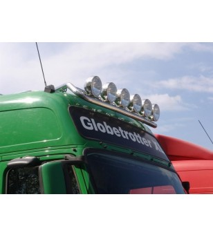 VOLVO FH 08 to 13 LAMP HOLDER ROOF GLOBE + GLOBE XL 6x lamp fixings cable pcs - 868501 - Roofbar / Roofrails - Metec Truck