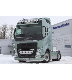 VOLVO FH 13+ LAMP HOLDER FRONT TAILOR 4x lamp fixings cable pcs - 888590FH - Bullbar / Lightbar / Bumperbar - Metec Truck - Vers