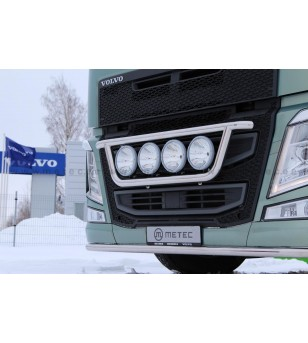 VOLVO FH 13+ LAMP HOLDER FRONT CLASSIC 4x lamp fixings cable pcs - 888594FH - Bullbar / Lightbar / Bumperbar - Metec Truck - Ver