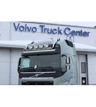 VOLVO FH 13+ LAMP HOLDER ROOFMAX GLOBE + GLOBE XL 4x lamp fixings cable pcs - 868604 - Roofbar / Roofrails - Metec Truck