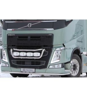 VOLVO FH 13+ LAMP HOLDER FRONT TAILOR 4x lamp fixings cable LED pcs - 888591FH - Bullbar / Lightbar / Bumperbar - Metec Truck