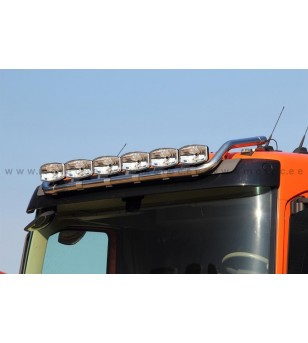 VOLVO FH 13+ LAMP HOLDER ROOFMAX with clamps SLP 6x lamp fixings cable pcs - 868625 - Roofbar / Roofrails - Metec Truck
