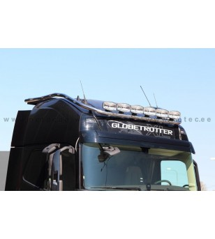 VOLVO FH 13+ LAMP HOLDER ROOFHYDRA GLOBE XL 6x lamp fixings cable LED pcs - 868619 - Roofbar / Roofrails - Metec Truck