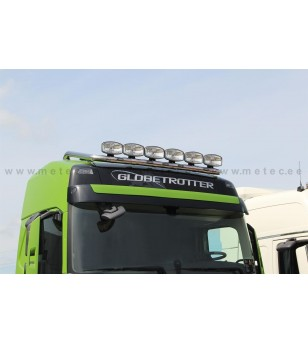 VOLVO FH 13+ LAMP HOLDER ROOFTOP 6 with clamps GLOBE + GLOBE XL 6x lamp fixings cable LED pcs - 868613 - Roofbar / Roofrails - M